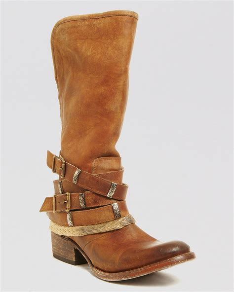 freebird boots freebird by steven boots drover in brown lyst
