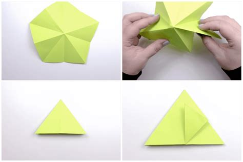 How To Make Mountains Out Of Construction Paper - how to make a 3d origami apple