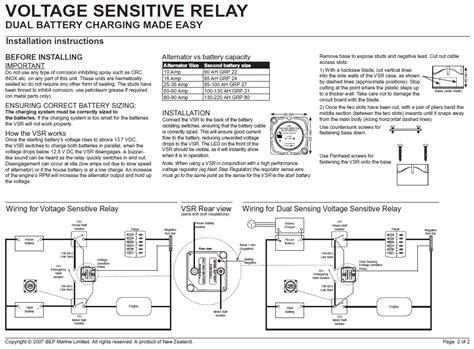 voltage sensing relay circuit diagram circuit and