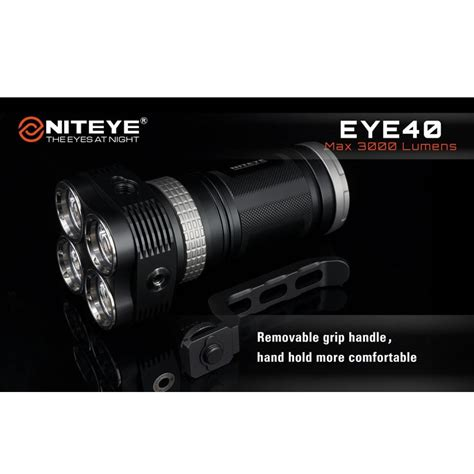Niteye Eye30 Senter Led Cree Xm L U2 2000 Lumens niteye eye40 senter led cree xm l u2 3000 lumens black jakartanotebook