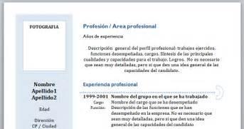 Plantilla De Curriculum En Word 2007 Las Mejores Plantillas De Curriculum En Word Para Descargar Gratis Tuexperto
