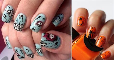 imagenes uñas de halloween nail art para halloween