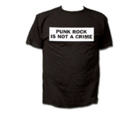 t shirts rock is not a crime slogans