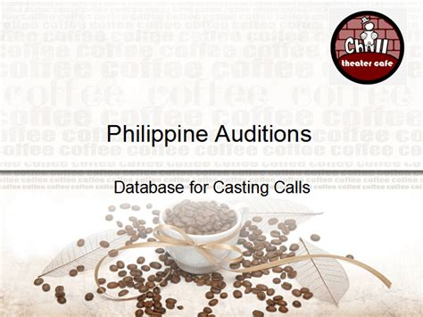 jurassic world casting extras 2015 auditions database philippine auditions 18 november 2015 ichill theater cafe