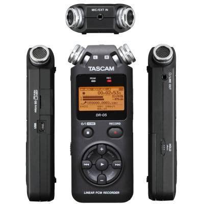 Tascam Dr 05 Handheld Stereo Recorder tascam dr 05 portable handheld recorder b stock tascam from inta audio uk