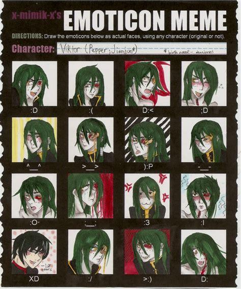 Emoticon Meme - viktor emoticon meme by paprikapatches on deviantart
