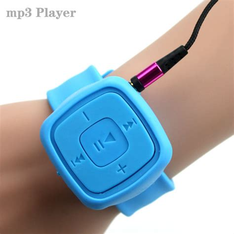 Mini Watches Mp3 Player With Micro Tf Card Slot sell gift sport mini watches mp3 player portable player with micro tf card slot mp3