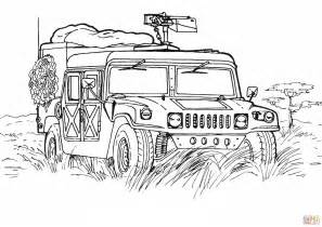 army coloring pages army hummer coloring page free printable coloring pages