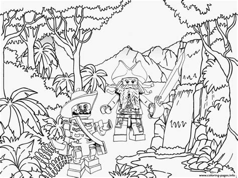 lego ninjago pirate coloring pages lego pirates jungle coloring pages printable