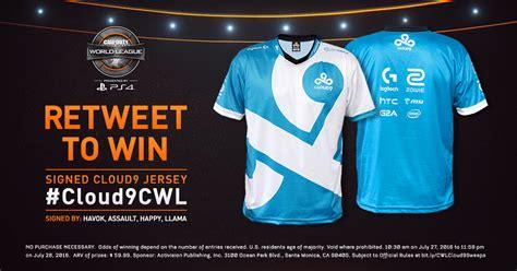 Jersey Cloud9 cloud9 jersey giveaway
