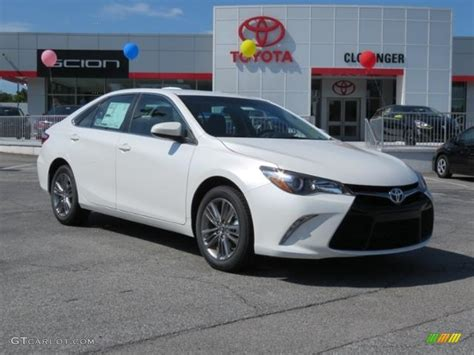 colors of 2017 toyota camry 2017 blizzard white pearl toyota camry se 114781641