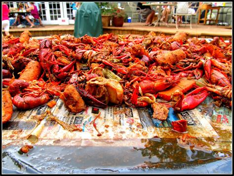Sleeping With The Crawfish greetings from crawfish boil