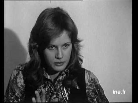 dominique sanda interview dominique sanda interview t 233 l 233 fran 231 aise en 1971 youtube