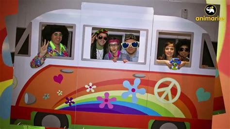 furgoneta hippie decoracion hippie