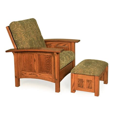mission style chair and ottoman mission chair and ottoman mission leisure chair and