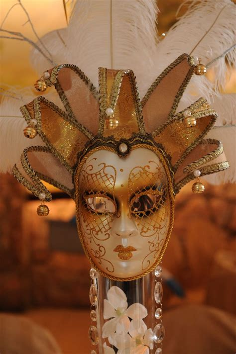 venetian mask centerpieces loula s sweet 16 masquerade