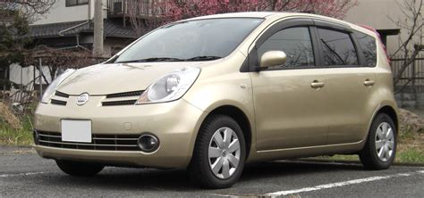 nissan note 2005 file 2005 2008 nissan note jpg wikimedia commons