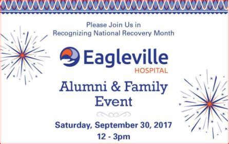Eaglesville Detox by Alumni Family Event Eagleville Hospital
