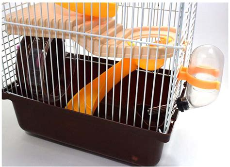 New Best Seller Terowongan Lorong Hamster Plus new hamster mouse cage 3 storey gorgeous small castle