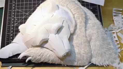 How To Make 3d Paper Sculptures - aphoenixd amazing 3d paper sculptures by calvin nicholls