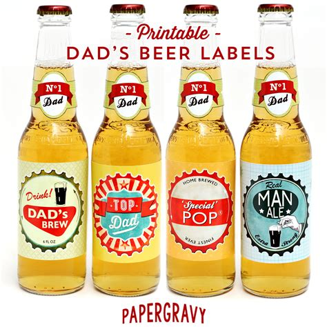 Beer Bottle Labels Free