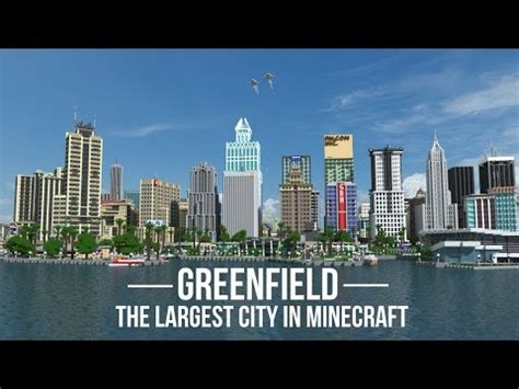 layout design for greenfield port filyos greenfield the largest city in minecraft v0 5