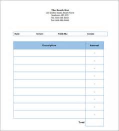 Free Blank Invoice Templates by Blank Invoice Template 50 Documents In Word Excel Pdf