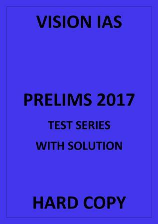Vision Ias Essay Test Series by Zoology Printed Notes Brilliant Tutorials