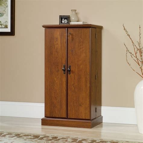 multimedia storage cabinet in milled cherry 418651