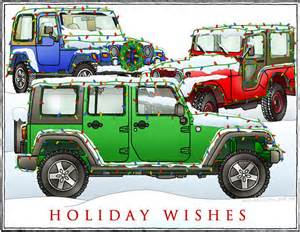 Allthings Jeep All Things Jeep Wishes 3 Jeeps Cards