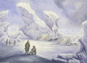 painting explorer explorer of failed 1875 expedition to the