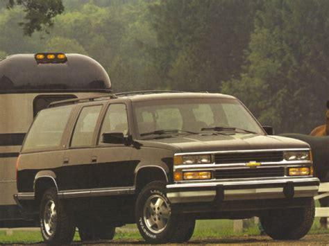1993 chevrolet suburban overview cars com 1993 chevrolet suburban overview cars com