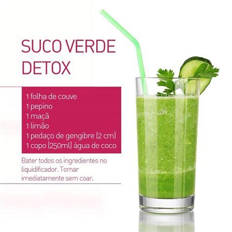 Receita De Suco Detox Para Emagrecer by Suco Detox