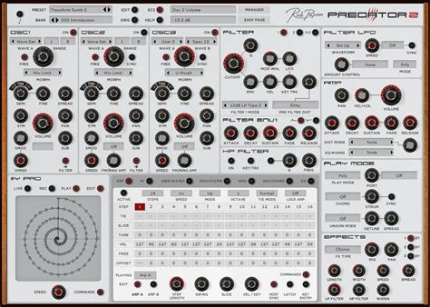 Rob Papen Predator rob papen predator 2 synth plugin gets white screen option