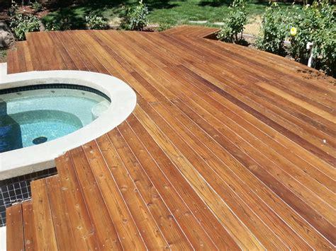 Sealing Wood Decks