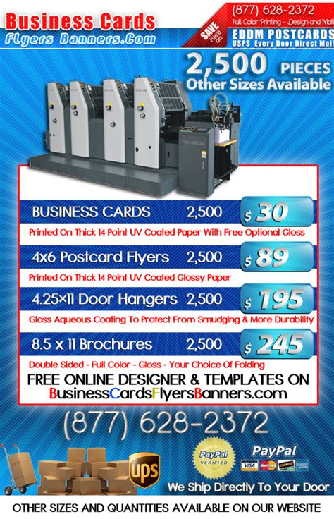 Business Cards Flyers And Banners