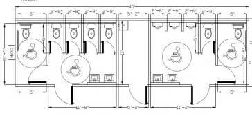 Commercial ada bathroom floor plans