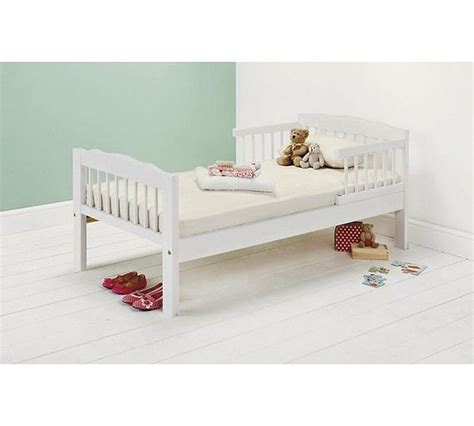 Pine Toddler Bed Frame Buy Home Antique Pine Toddler Bed Frame White At Argos Co Uk Your Shop For Children S