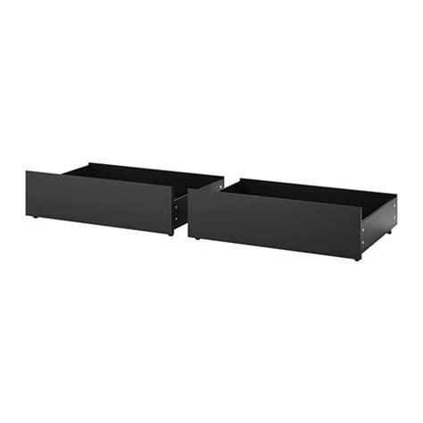 Lit Haut Ikea by Malm Rangement Pour Lit Haut Noir Brun Ikea