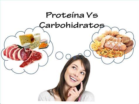 proteinas y carbohidratos proteinas y carbohidratos