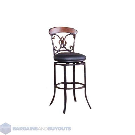 Coffee Ground Stool by 29 Quot Hillsdale Suit Swivel Bar Stool Coffee