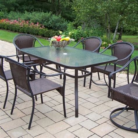 all patio furniture designed for modern homes oakland living tuscany all weather wicker patio d contemporary