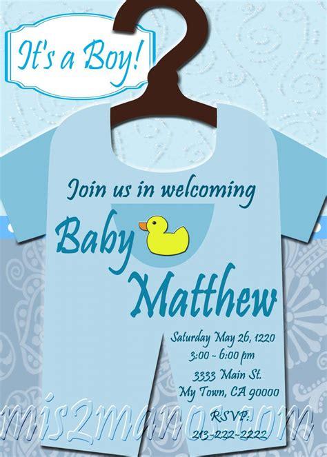 order baby shower invites baby shower onesie invitations printable baby boy custom
