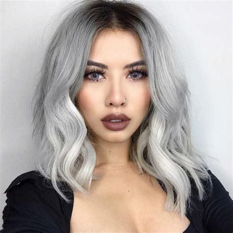 silver hair color ideas 28 inspiring silver hair color ideas