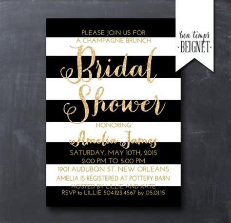 printable black and white bridal shower invitations black and white bridal shower invitations printable free