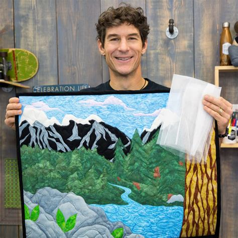Free Style Quilting by How To Add Netting To A Landscape Quilt Sewing