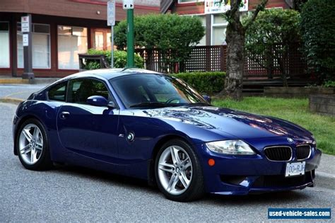 Bmw M Coupe For Sale by 2006 Bmw M Roadster Coupe For Sale In Canada