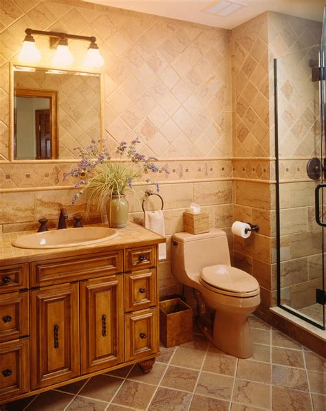 Bathroom Vanity Tile Ideas by Tile Ideas For Small Bathrooms Bathroom Mediterranean With