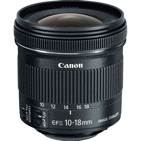 Lensa Canon Wide 10 18mm canon ef s 10 18mm f 4 5 5 6 is stm