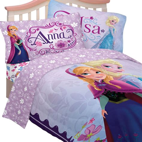 disney frozen bedding set elsa anna celebrate love bed